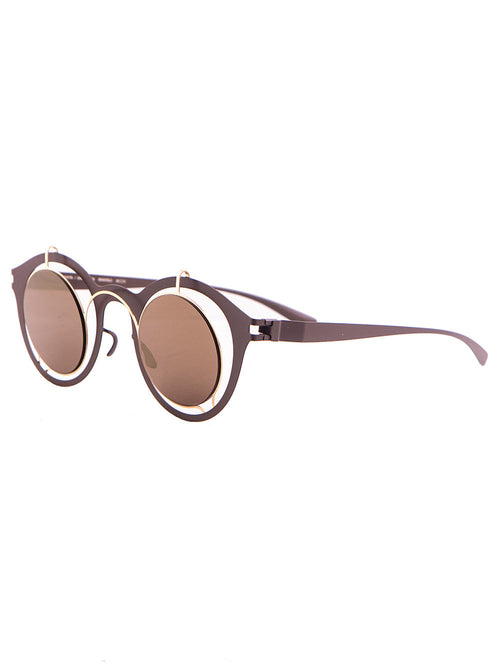 Mykita Damir Doma Gold Terra Bradfield Sunglasses
