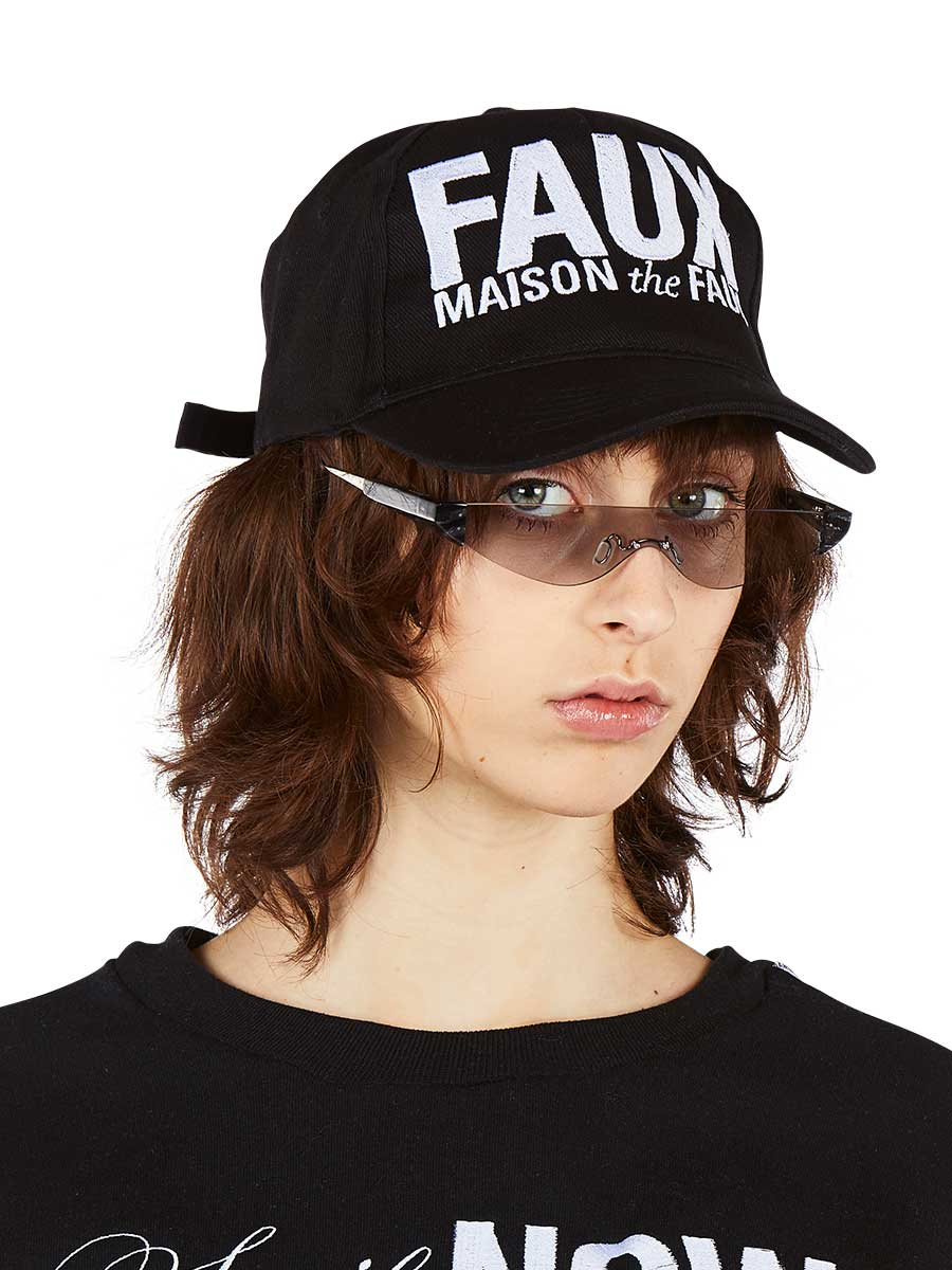 The Faux Logo Cap