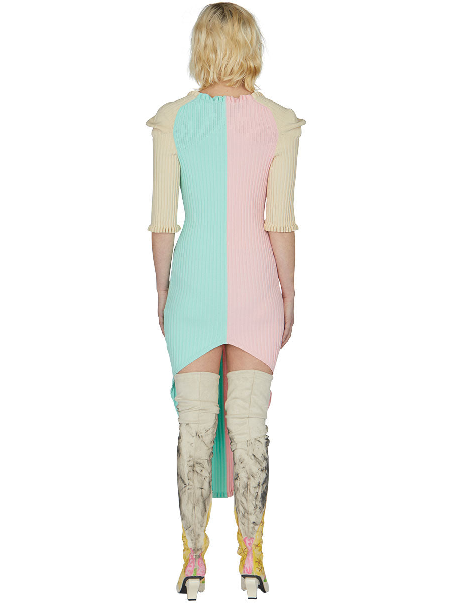 odd92 Neith Nyer Spring/Summer 2019 Womenswear Bicolor Knit Dress - 5