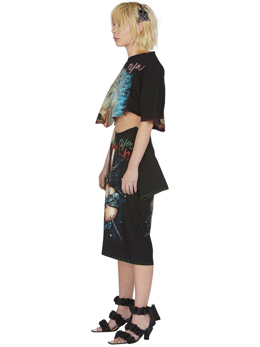 odd92 Shop Neith Nyer Spring/Summer 2019 Womenswear F*CK Finger T-Skirt - 5