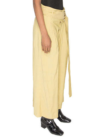 High-Waist Wide Leg Trousers