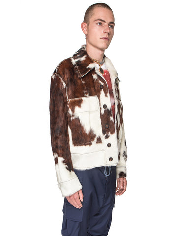 Thrasher Cowhide Jacket