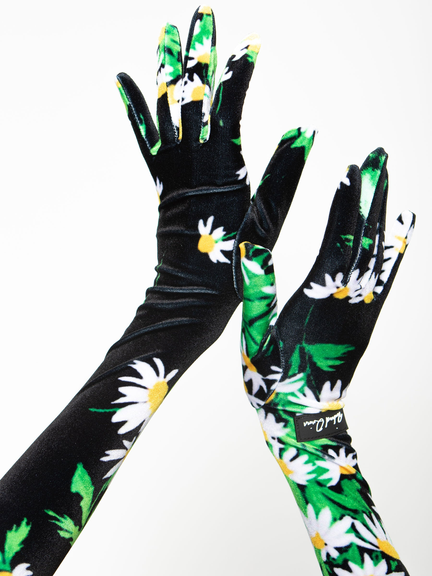 Daisy Print Glove Top
