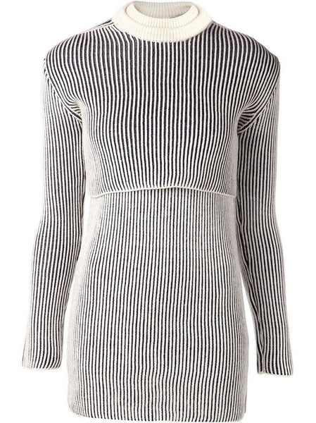 Y/PROJECT  Ribbed Sweater/Dress Set - 1