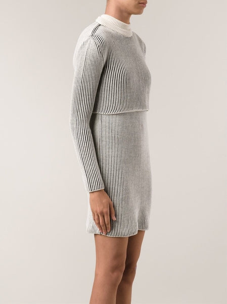 Y/PROJECT  Ribbed Sweater/Dress Set - 3