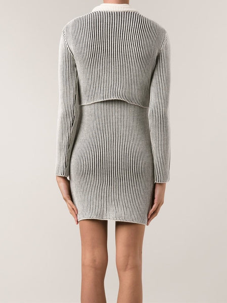 Y/PROJECT  Ribbed Sweater/Dress Set - 4