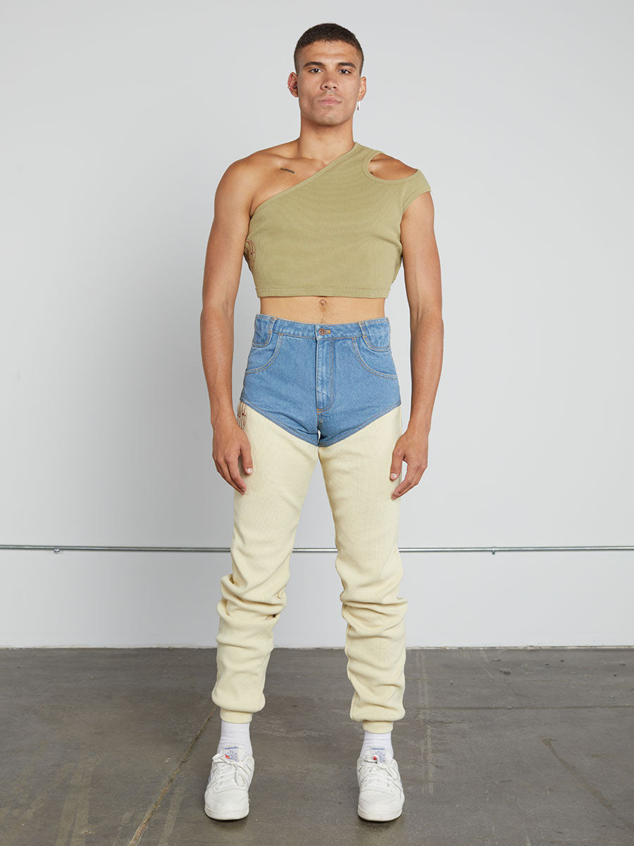 Thermal Cropped Asymmetric Tank