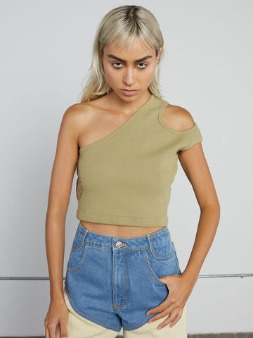 Turtleneck Halter Top