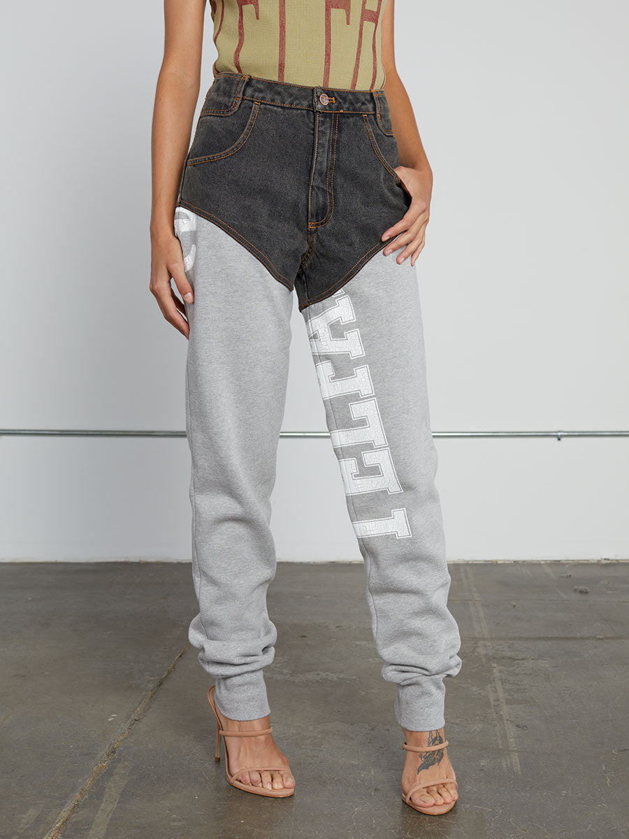 Straight Leg Jean Sweats