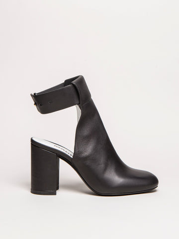 Open Back Ankle Boots