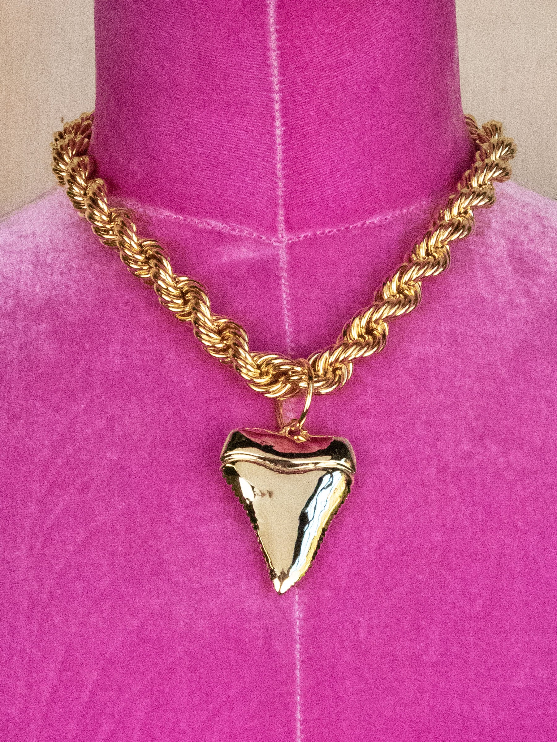 Shark Night Necklace