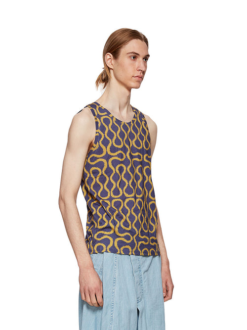 Squiggle Tank Top