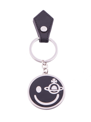 Smiley Key Ring