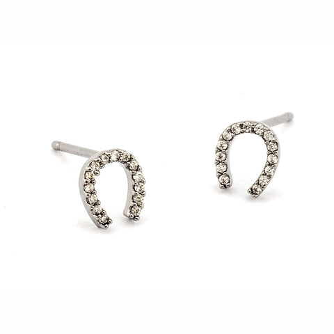 MINI HORSESHOE EARRINGS