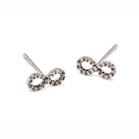 MINI INFINITY EARRINGS