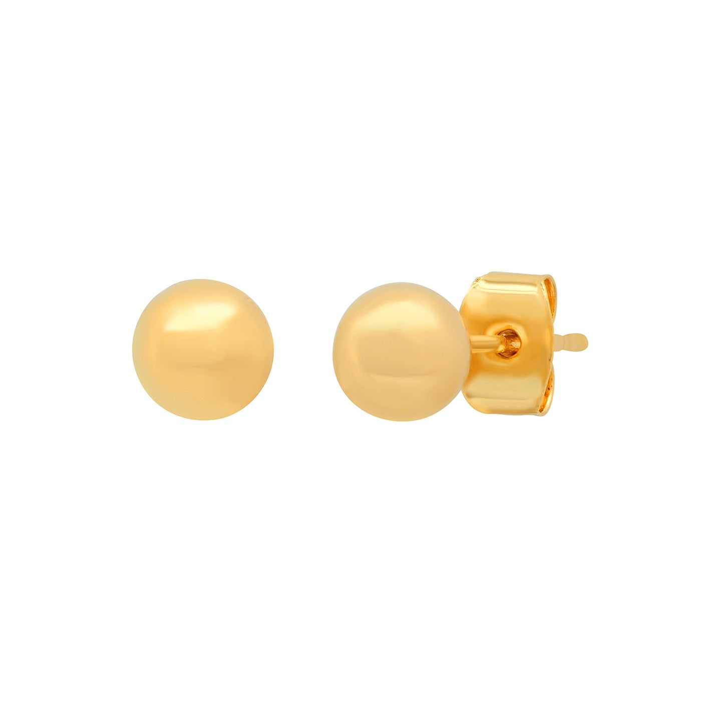 6MM Gold Ball Studs