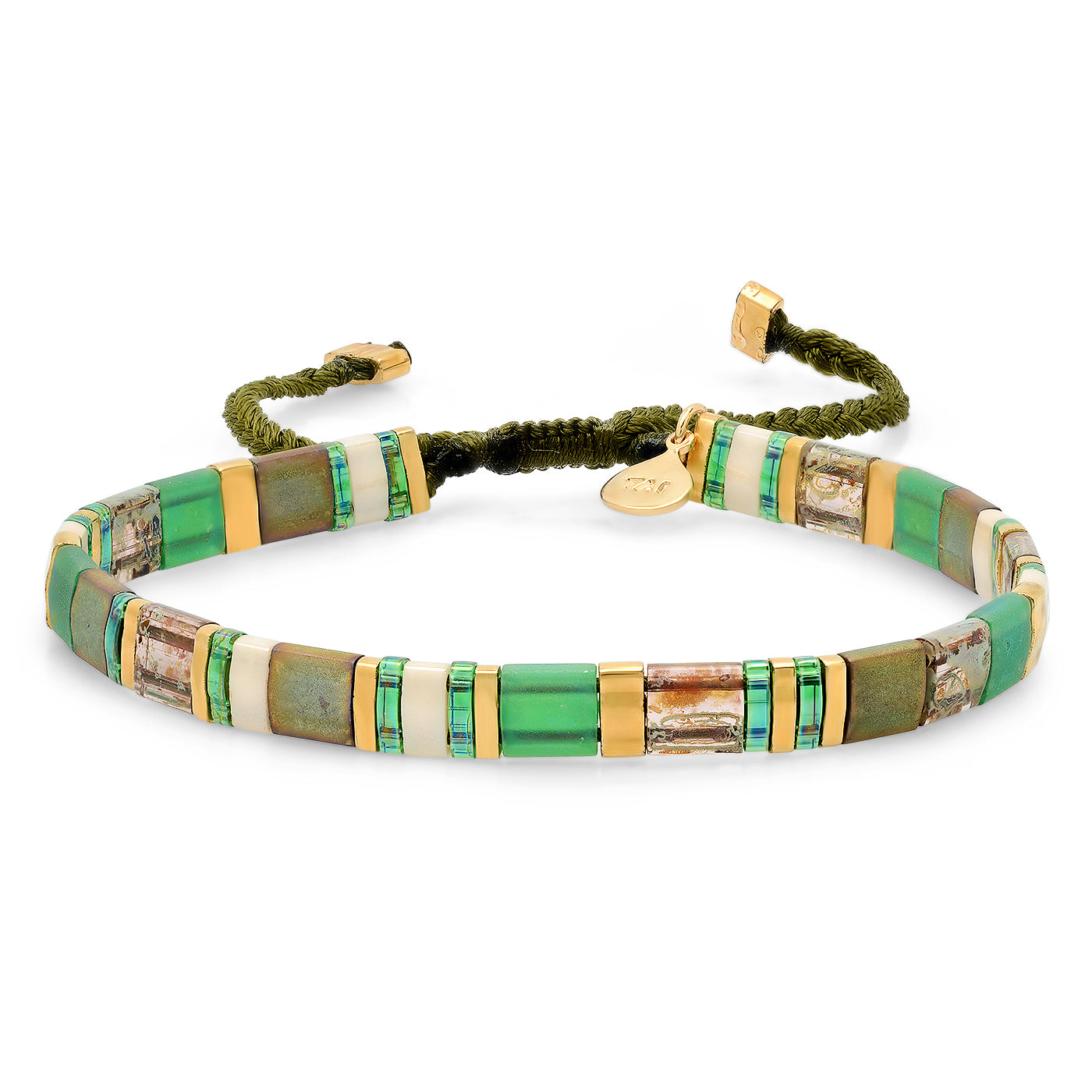 Block Party Bracelet in Green
