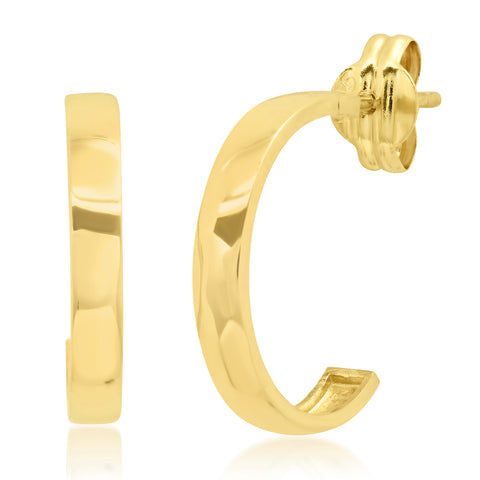 Tai Fine 14k Gold Hoop Earrings