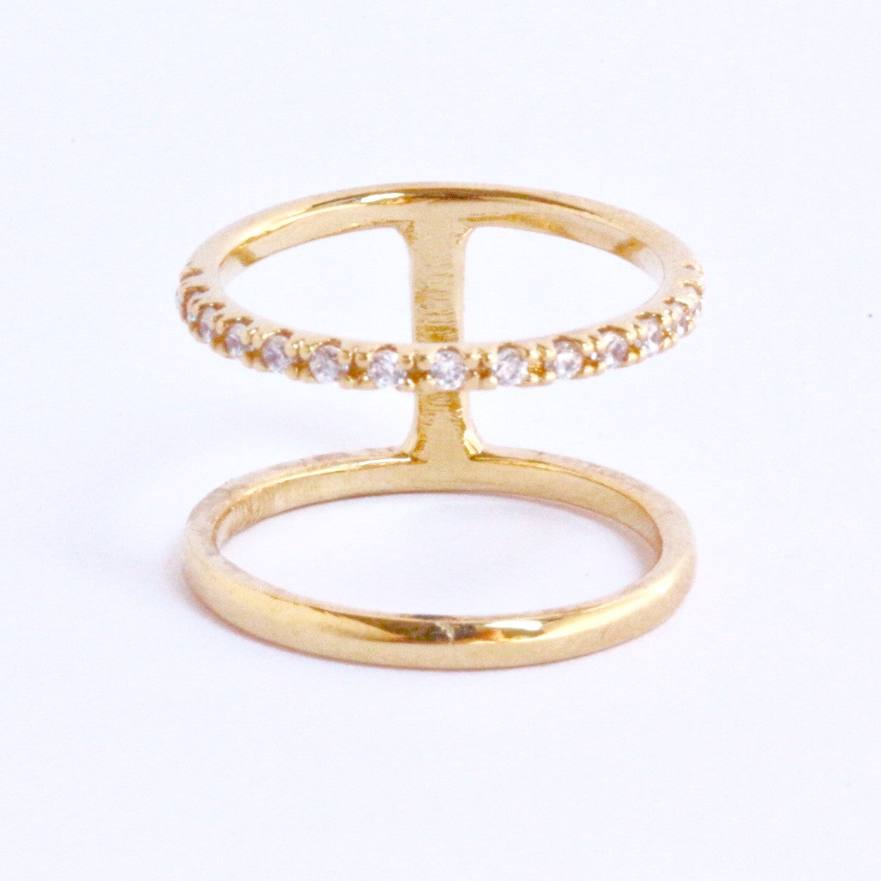 rings band jewelry ring diamond double