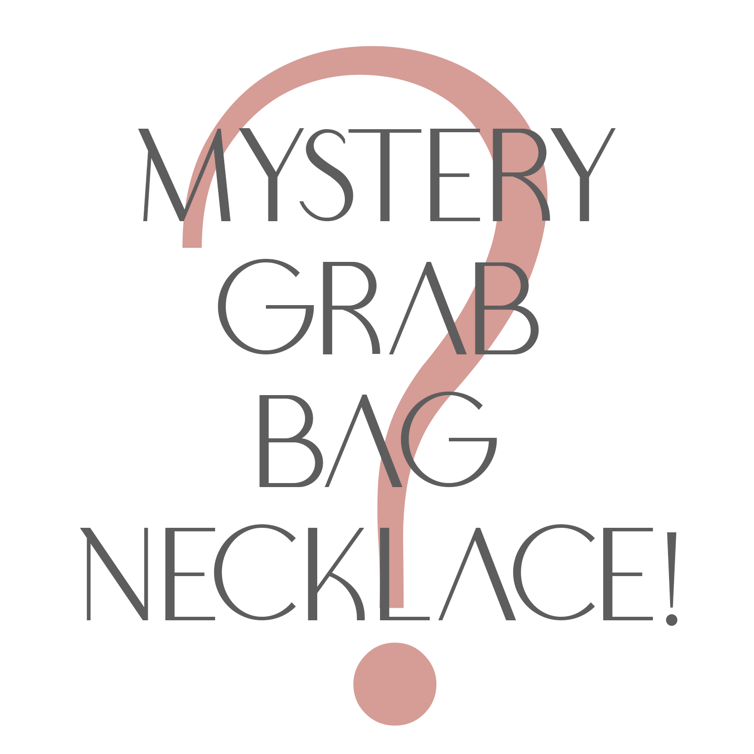 Mystery Grab Bag Necklace