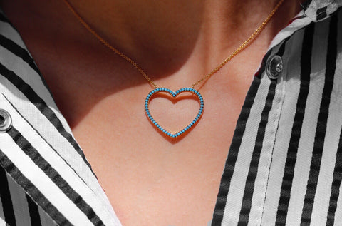 Oversized Heart Necklace