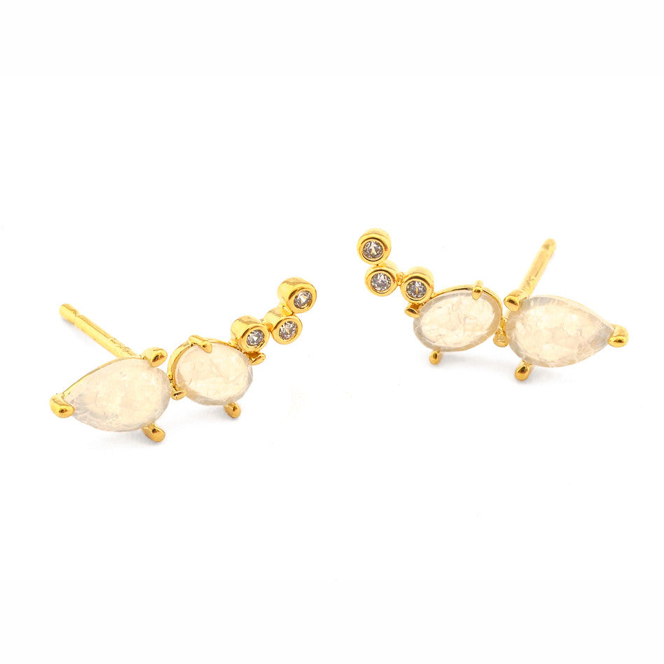 OFF WHITE CLIMBER EARRING