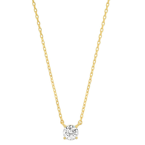 Simple Chain with Small Round Cut CZ