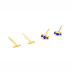 MINI STICK SET OF 2 EARRINGS
