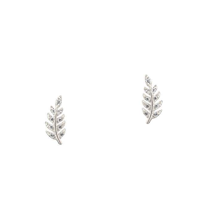 DELICATE LEAF STUDS