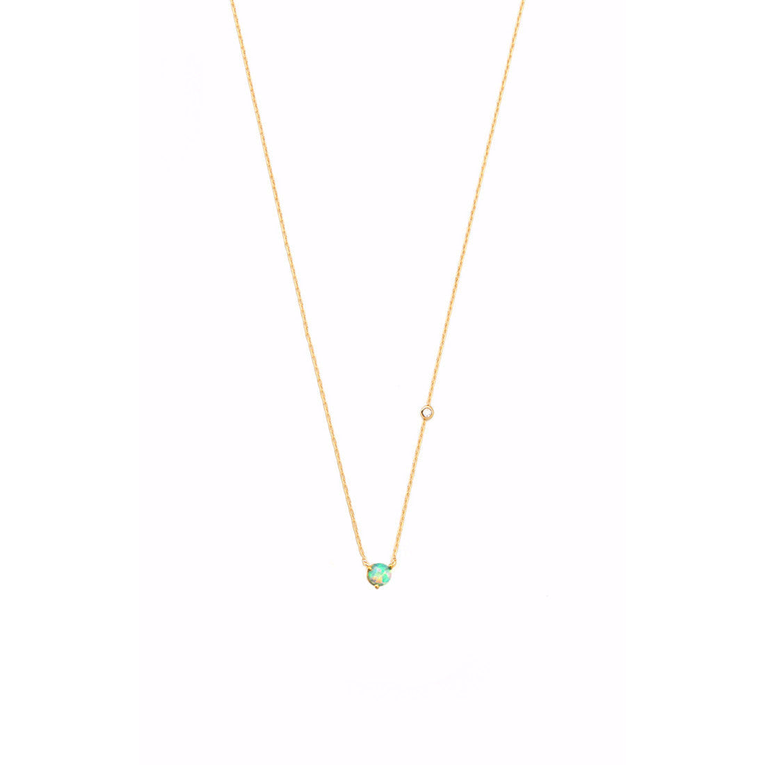 MINI OPAL PENDANT NECKLACE