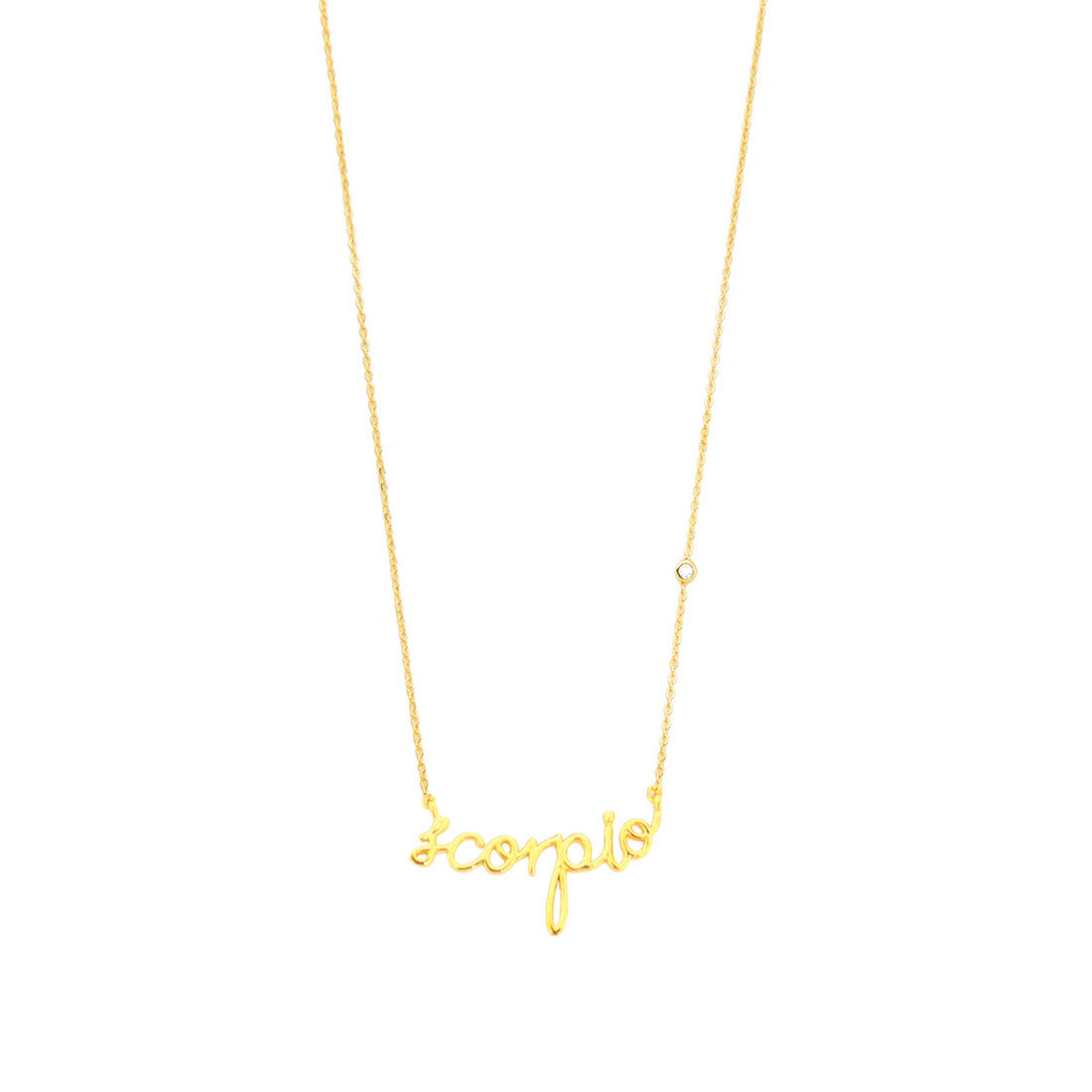 ZODIAC NAMEPLATE NECKLACES