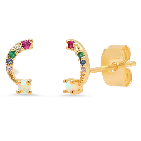 Over the rainbow studs