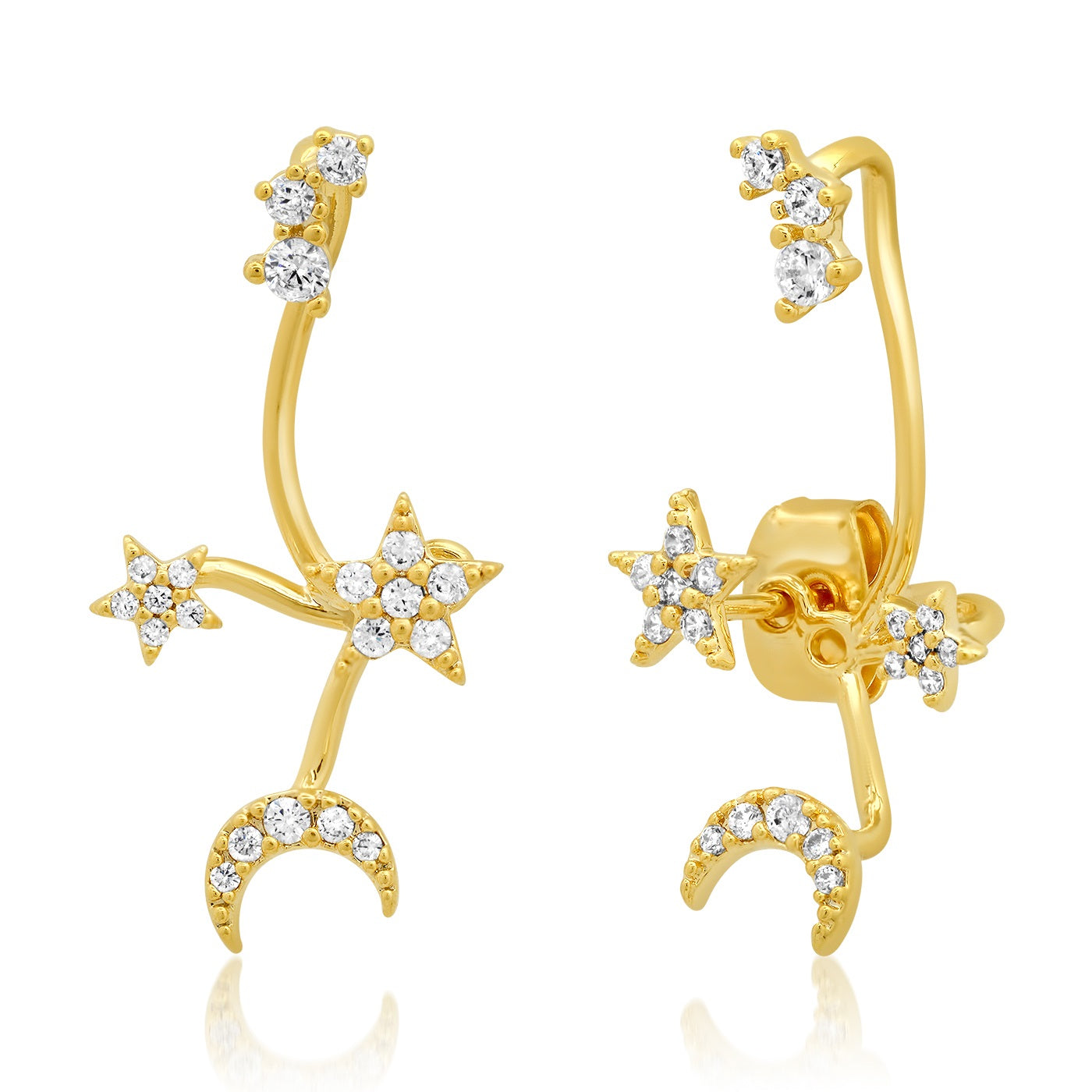 Twinkling Stars Climbing Ear Jacket