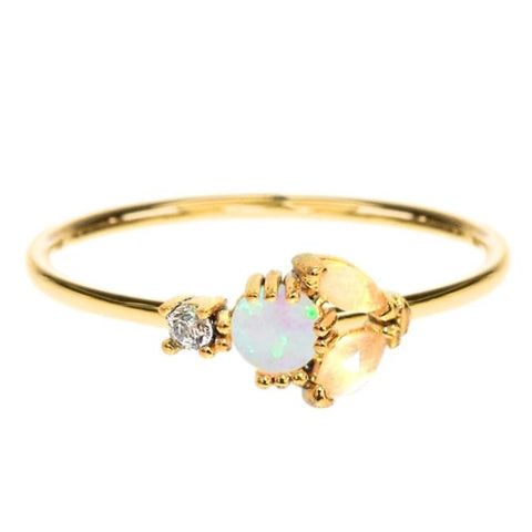 Opal Cats Eye Ring