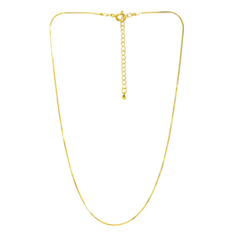 Linear Snake Chain Necklace