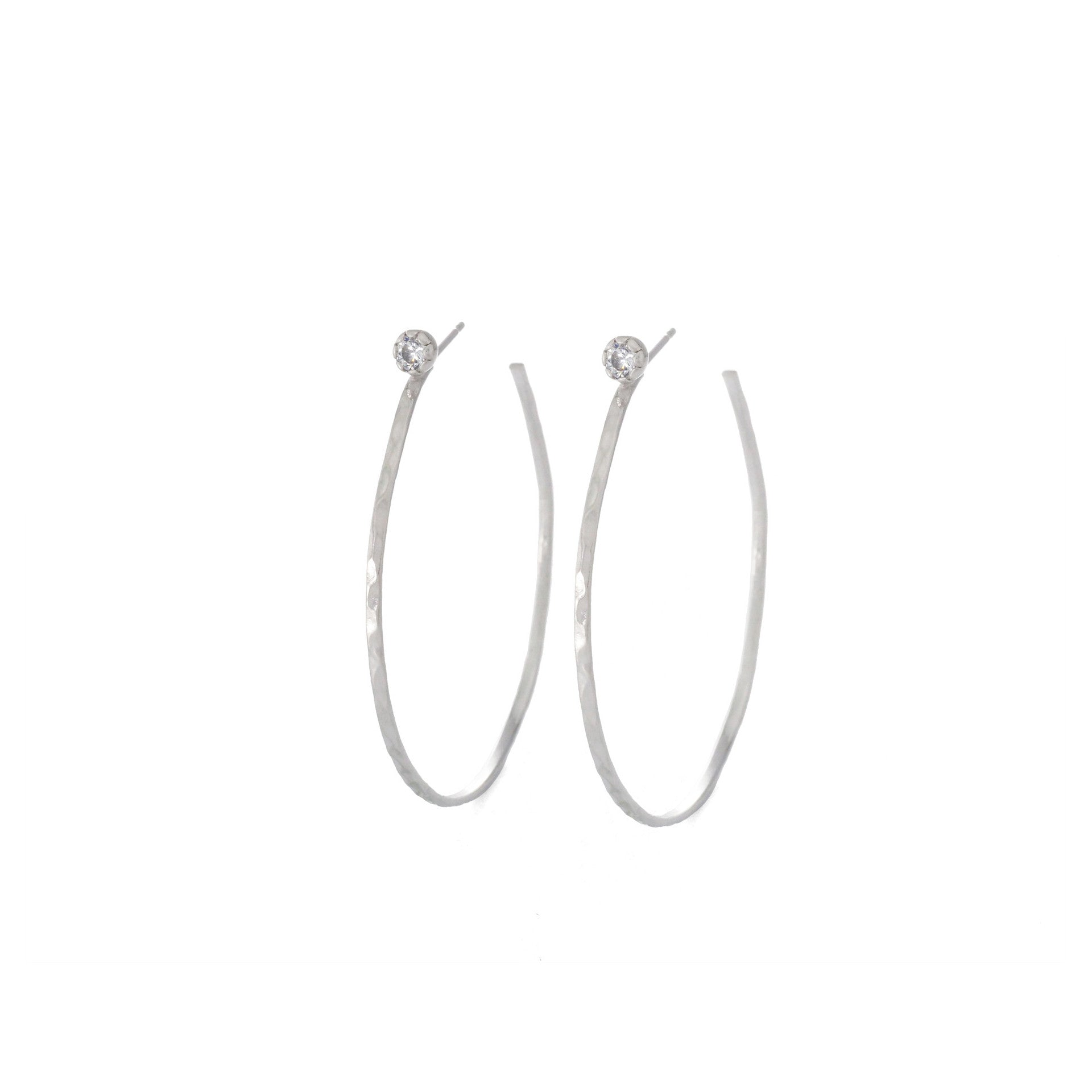 silver stud swirled earirngs sterling hoop earrings real products inch