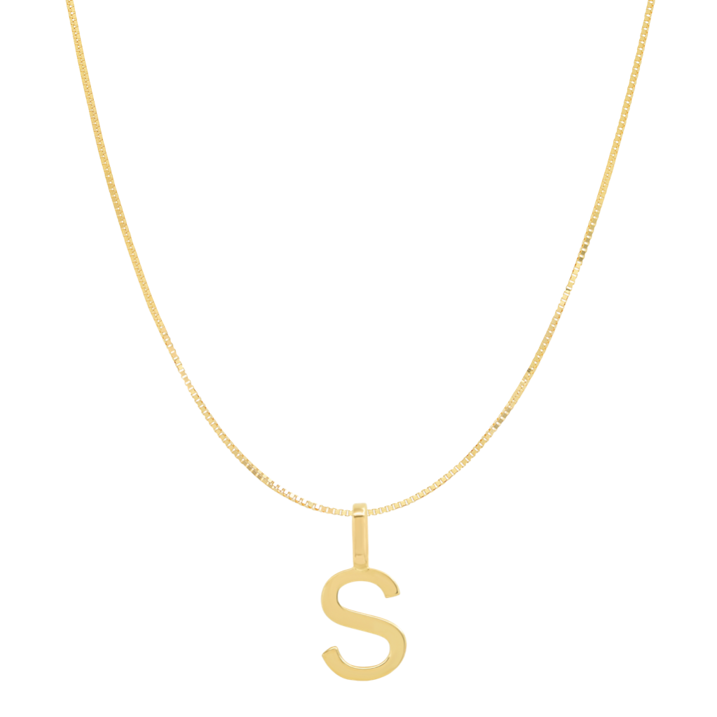 Tai Fine 14k Gold Initial Charm Necklace - Customer's Product with price 205.00 ID NGaz3mVydr_pHhC3Oh-iih2a