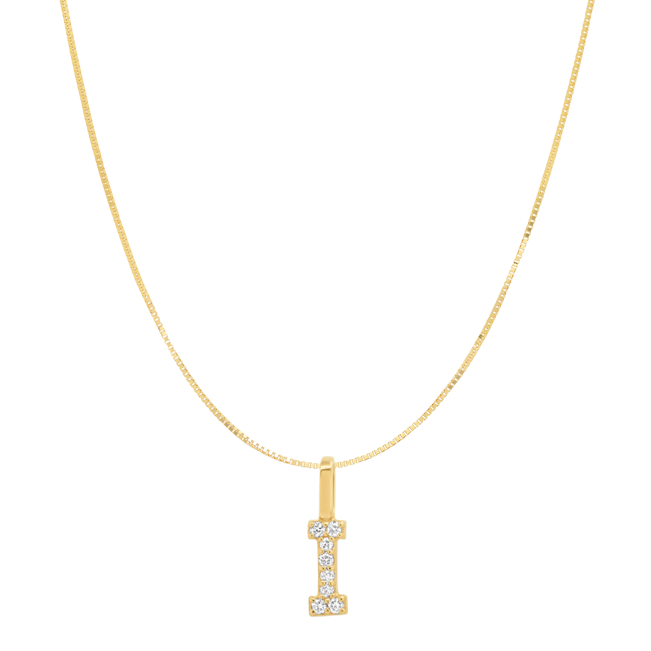 Tai Fine 14k Gold Initial Charm Necklace - Customer's Product with price 330.00 ID gPgViYQtLIEyWkUzVUErO73H