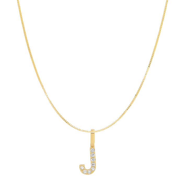 Tai Fine 14k Gold Initial Charm Necklace - Customer's Product with price 330.00