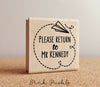 Personalized Teacher Stamp, Sign and Return Stamp for Teachers - PinkPueblo