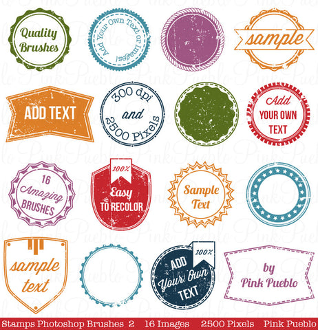 Stamps Photoshop Brushes