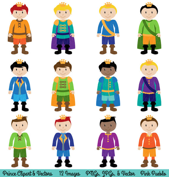 Prince Clipart and Vectors