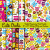 Owl Digital Papers and Backgrounds