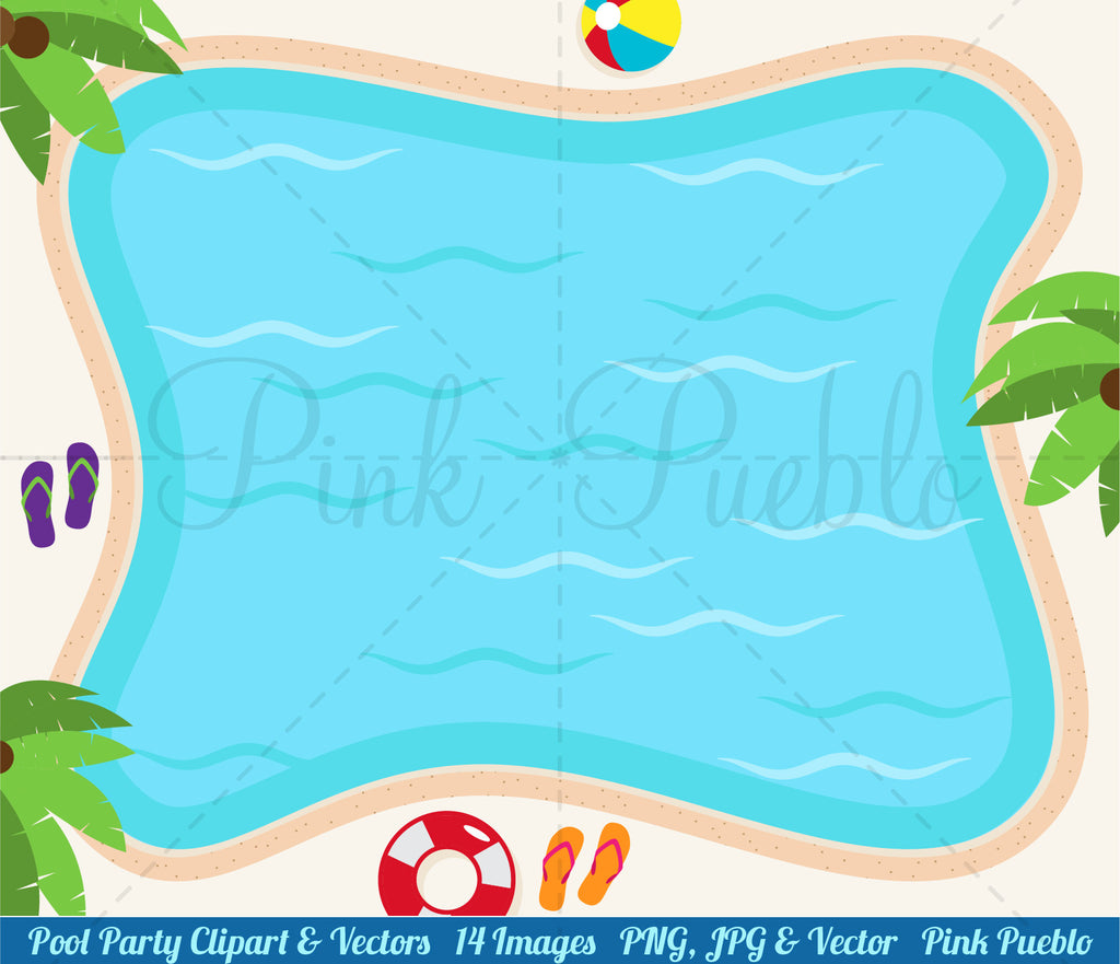 pool party clipart and vectors pinkpueblo rh pinkpueblo com pool party clip art 1920 x 1080 pool party clip art for kids