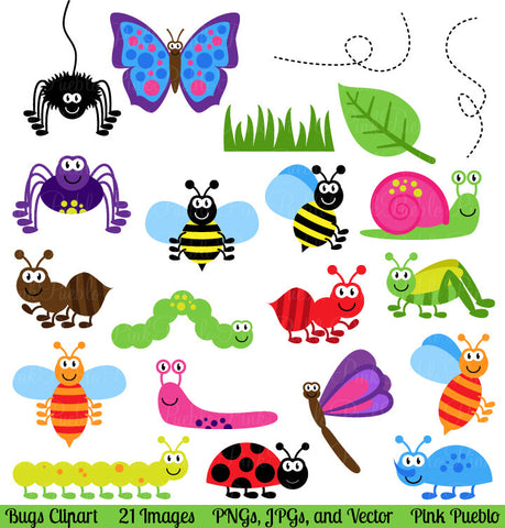 Bugs Clipart and Vectors