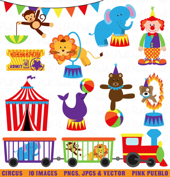 Circus Clipart and Vectors