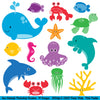 Sea Animals Photoshop Brushes - PinkPueblo