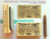 Personalized Business Card Stamp, Business Card Rubber Stamp, Jewelry Business Card Stamp - PinkPueblo