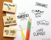 Reward Teacher Stamps, Teacher Stamps for Grading, Teacher Stamp Set