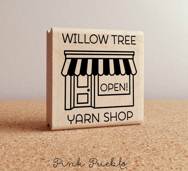 Personalized Shop Rubber Stamp, Custom Business Rubber Stamp, Handmade By Stamp, Handmade By Rubber Stamp